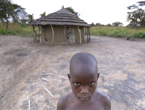 A once displaced boy is now back home in northern Uganda.